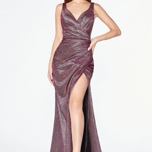 Sweetheart Leg Slit Bridesmaid Long dress